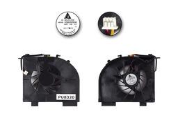 HP Pavilion DV5, DV6, DV7 gyári új laptop hűtő ventilátor (2 air out) (KSB0505HA 8J75)
