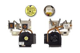 HP Pavilion DV6-1000, DV6-2000, DV7-3000 használt komplett laptop hűtő ventilátor (SPS: 532614-001)