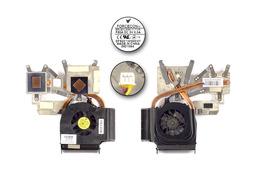 HP Pavilion DV6-1000, DV6-2000 használt komplett laptop hűtő ventilátor (SPS 532614-001)