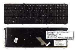 HP Pavilion DV6-1000, DV6-2000 használt olasz fekete laptop billentyűzet (570228-061)