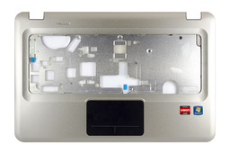 HP Pavilion DV6-3000, DV6-3100 laptophoz használt ezüst felső fedél touchpaddal, 3LLX8TATP20