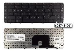 HP Pavilion DV6-3000 gyári új US angol laptop billentyűzet, 606745-DJ1