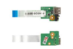 HP Pavilion DV6-3000, DV6-4000 használt USB panel kábellel (36LX6UB0000, DA0LX6TB4D0, 603683-001)