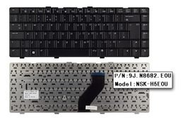 HP Pavilion dv6000, dv6100, dv6200, dv6300, dv6400, dv6500 gyári új UK angol laptop billentyűzet (431414-031)