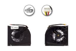 HP Pavilion dv6000 sorozat laptop hűtő ventilátor 2 levegő nyílásos, AB7505MF-LBB