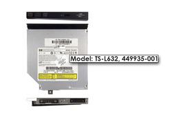 HP Pavilion DV6500 használt IDE laptop DVD-író, TS-L632, 449935-001