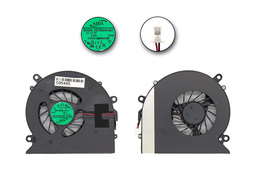 HP Pavilion DV7-1000, DV7-1100, DV7-1200 gyári új laptop hűtő ventilátor (480481-001, AB7805HX-EB1 X1B)