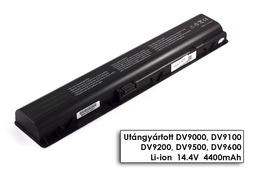 HP Pavilion dv9000, dv9500, dv9900 helyettesítő új 8 cellás laptop akku/akkumulátor (EX942AA)