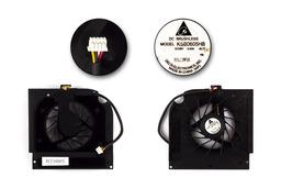 HP Pavilion dv9000 sorozat gyári új laptop hűtő ventilátor (432995-001)