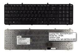 HP Pavilion DV9000 sorozat használt US angol laptop billentyűzet (432976-001,C070723006V,AEAT5R00110)