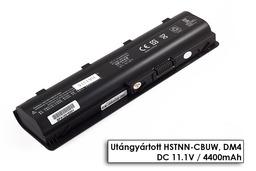 HP Pavilion G6-2200 laptop akkumulátor, új, gyárival megegyező minőségű helyettesítő, 6 cellás (4400mAh)