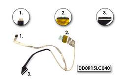 HP Pavilion G6-1000, G6-1100 gyári új laptop LCD kijelző kábel, DD0R15LC040, DD0R15LC050, DD0R15LC000
