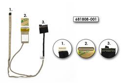 HP Pavilion G6-2000, G6-2300, G6T-2000, G6Z-2200 gyári új laptop LCD kijelző kábel (681808-001)