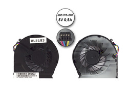 HP Pavilion G6-2000, G7-2000 gyári új hűtő ventilátor (683193-001)