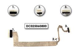 HP Pavilion zv5000 laptophoz használt Kijelző kábel (15.4inch, WXGA),(375622-001)