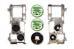HP Pavilion zv5000, zx5000 használt dupla laptop hűtő ventilátor belső merevítővel (355906-001)