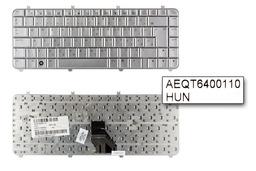 HP Pavilon DV5 használt ezüst magyar laptop billentyűzet (488590-211)