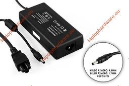 HP 19V 4.74A 90W (4.8mm-1.7mm kúpos jack) helyettesítő használt  laptop töltő (PA-1900-18H1,101880-001)
