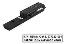 HP Probook 4210s, 4310s, 4311 gyári új 8 cellás laptop akku/akkumulátor (HSTNN-OB92)