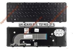HP ProBook 450, 470 használt magyar laptop billentyűzet, 721953-211