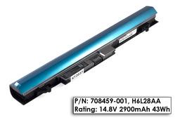 HP ProBook 430 G1 gyári új 4 cellás laptop akkumulátor, H6L28AA (708459-001)