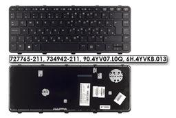 HP ProBook 430 G1 gyári új magyar keretes laptop billentyűzet, 727765-211