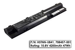 HP ProBook 440, 445, 450 gyári új 6 cellás laptop akkumulátor, 708457-001, HSTNN-UB41, H6L26AA