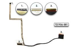 HP ProBook 450 G1, 455 G1 gyári új LCD kijelző kábel (50.4YX01.001)