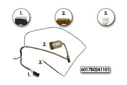 HP ProBook 4510S használt LCD kijelző kábel, 6017B0241101