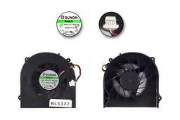 HP ProBook 4520s, 4525s, 4720s gyári új laptop hűtő ventilátor (SPS 598677-001, Sunon MF60120V1-Q020-S9A)