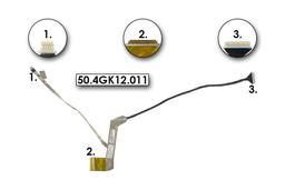 HP ProBook 4520s, 4720s gyári új LCD kijelző (15,6'') kábel (kamera csatlakozóval) (600925-001)