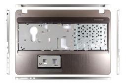 HP ProBook 4530s laptophoz gyári új szürke felső fedél ujjlenyomat olvasó nélkül (667657-001)