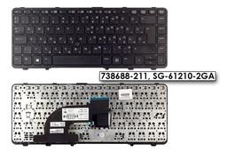 HP ProBook 640 G1, 645 G1 gyári új magyar laptop billentyűzet (738688-211)