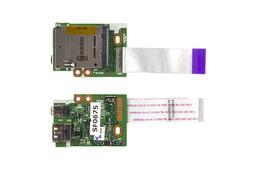 HP ProBook 6450b laptophoz használt USB és SD kártya olvasó panel kábellel (6050A2331801)