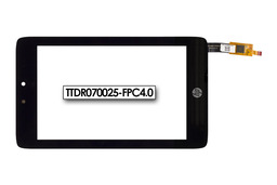 Érintő panel, touchscreen HP Slate 7 HD tablethez (TTDR070025-FPC4.0)