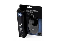 HP USB fekete optikai vezetékes egér KY619AA