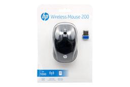 HP Wireless Mouse 200 USB-s vezeték nélküli fekete optikai egér