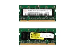 512MB DDR2 533MHz használt laptop memória