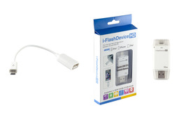 i-FlashDevice HD 32GB lightning (iPhone, iPod, iPad) és microUSB (Android OTG) flash memória
