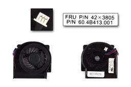 Lenovo ThinkPad X61, X61s gyári új laptop hűtő ventilátor (FRU 42X3805)