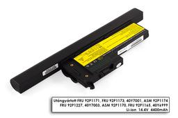 IBM/Lenovo ThinkPad X60, X60s, X61, X61s helyettesítő új 8 cellás laptop akku/akkumulátor (92P1173, 40Y7001)