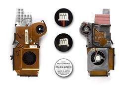 IBM ThinkPad G40, G41 használt laptop hűtő ventilátor (91P8535, 26R8028)
