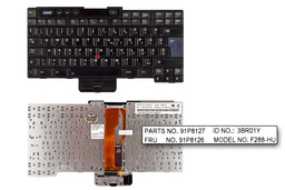 IBM ThinkPad G40, G41 használt magyar laptop billentyűzet (FRU 91P8126)