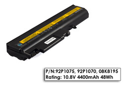 IBM ThinkPad R50, R51, T40, T41, T42, T43 használt 6 cellás 80%-os laptop akku/akkumulátor  FRU 92P1075