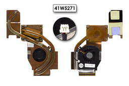 IBM ThinkPad R60, R60e laptop hűtő ventilátor (41W5271)