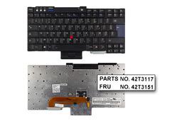 IBM ThinkPad R60, T60, Z60 gyári új francia laptop billentyűzet (FRU 42T3117)