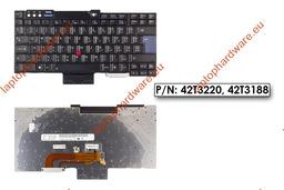 IBM ThinkPad R60, T60, Z60 használt magyar billentyűzet (FRU 42T3220)