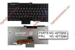 IBM ThinkPad R60, T60, Z60 használt magyar billentyűzet (FRU 42T3284)