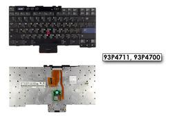 IBM ThinkPad T40, T41, T42, T43 (14 inch) használt US angol-héber laptop billentyűzet, 93P4711