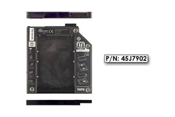 IBM ThinkPad T60,T61, Z60 Winchester beépítő keret 9.5mm-es DVD meghajtó helyére (45J7902)